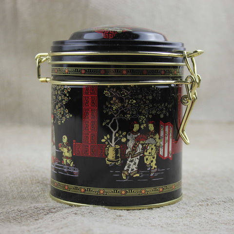 Round Japanese Canister