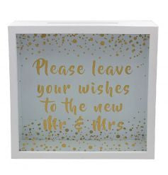 Mr & Mrs Wedding Wishes Box - Gifts~From~Dawn