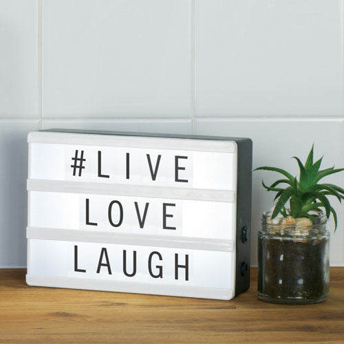 Mini Light Up Message Board - Gifts~From~Dawn