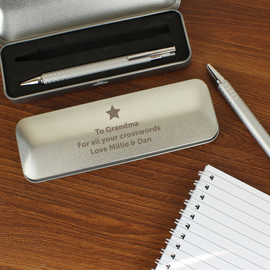 Personalised Star 2 pen box set - Gifts~From~Dawn