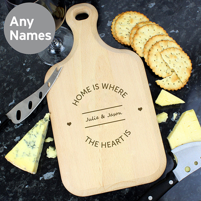 Personalised Large Paddle Chopping Board - Gifts~From~Dawn