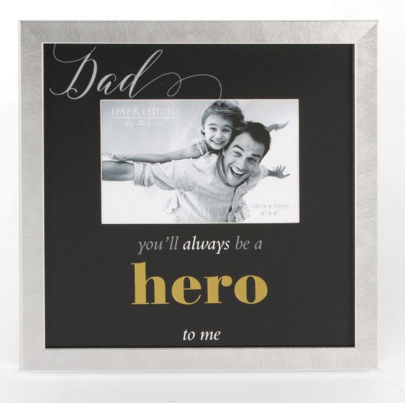 Hero Photo Frame - Daddy - Gifts~From~Dawn