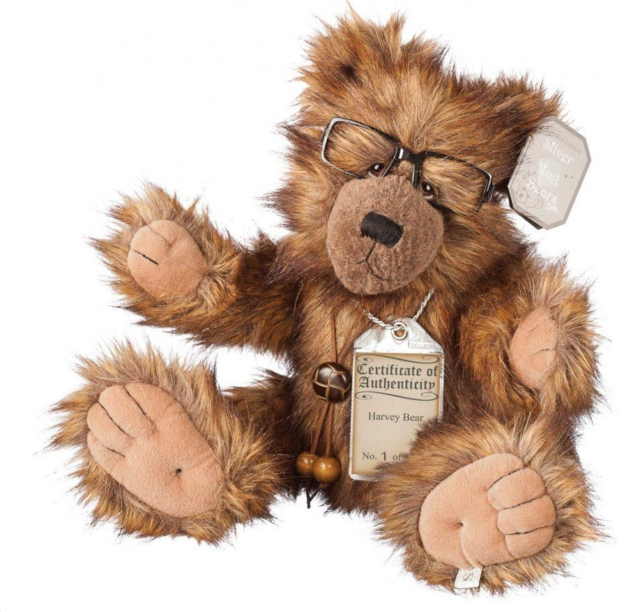 Harvey Silver Tag Bear - Gifts~From~Dawn