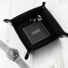 Luxury Black Personalised Valet Tray - Gifts~From~Dawn