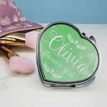 Personalised Wedding Glam Compact Mirror - Gifts~From~Dawn