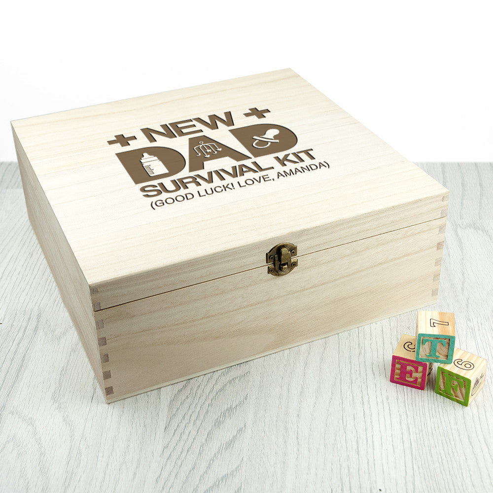 Personalised New Dad Survival Kit - Gifts~From~Dawn