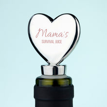Personalised Mama's Survival Juice Bottle Stopper - Gifts~From~Dawn