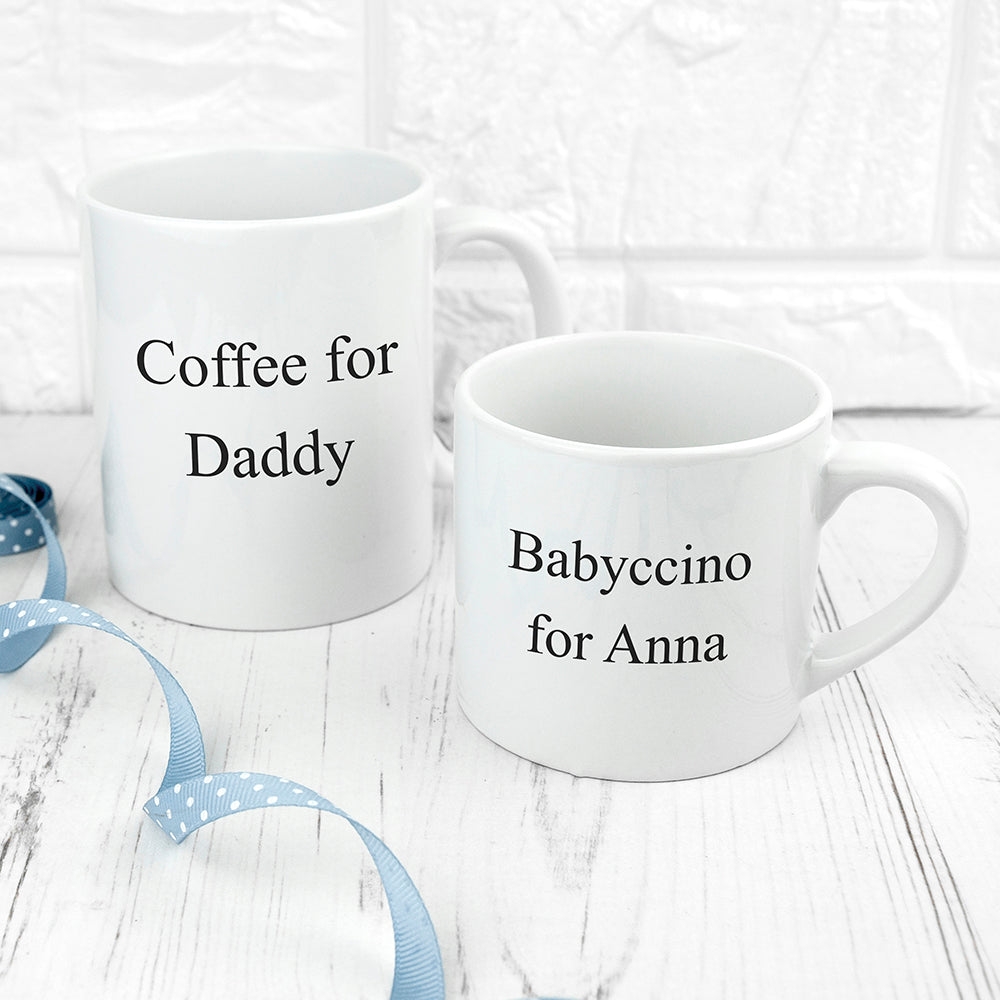 Personalised Daddy & Me Together Forever mugs - Gifts~From~Dawn