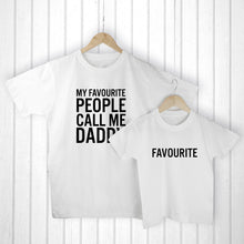 Daddy & Me Favourite People T-Shirt Set - Gifts~From~Dawn