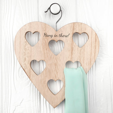 Personalised Heart Scarf Holder - Gifts~From~Dawn