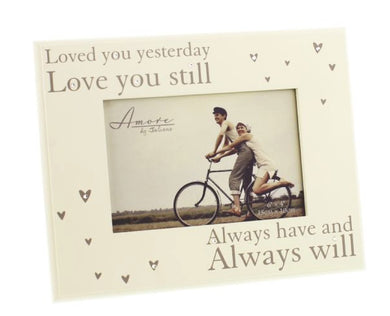 Loved You Yesterday Photo Frame - Gifts~From~Dawn