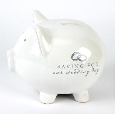 Wedding Day Piggy Bank - Gifts~From~Dawn