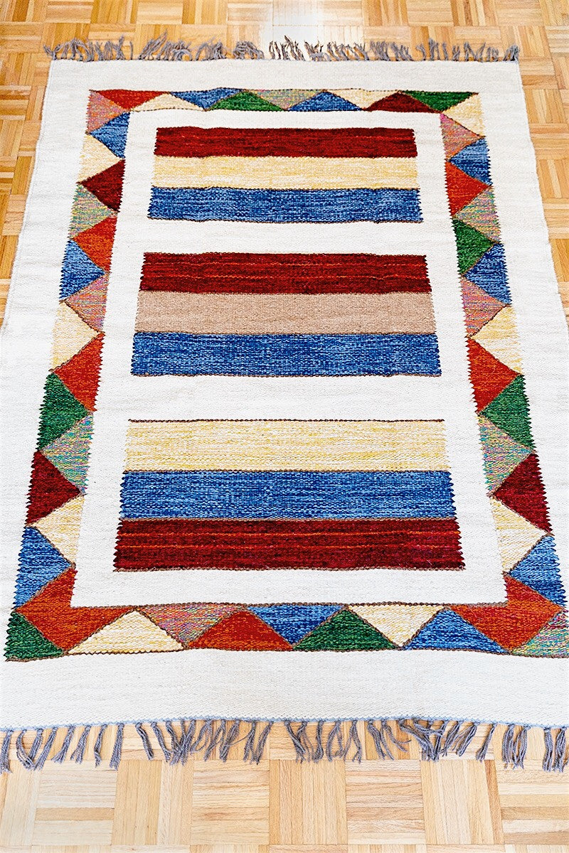 Multicolored Stripes Kilim - Sphinx Rugs