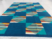 Colorblock Striped Kilim - Sphinx Rugs