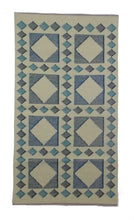 Triangles Kilim with Fringe - Sphinx Rugs