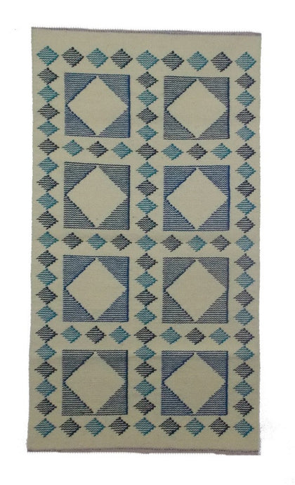 Contemporary Design Handmade Wool Area Rug - Sphinx Rugs
