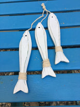 Hanging Fish - bunch of 3