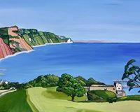Towards Sidmouth - Annabel Glassby Prints