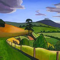 Colmer's Hill - Annabel Glassby Prints