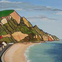 Haven Cliff - Annabel Glassby Prints