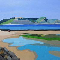 Lyme Regis Bay - Annabel Glassby Prints
