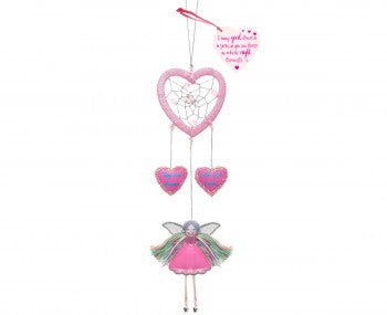 Heart Fairy Dreamcatcher
