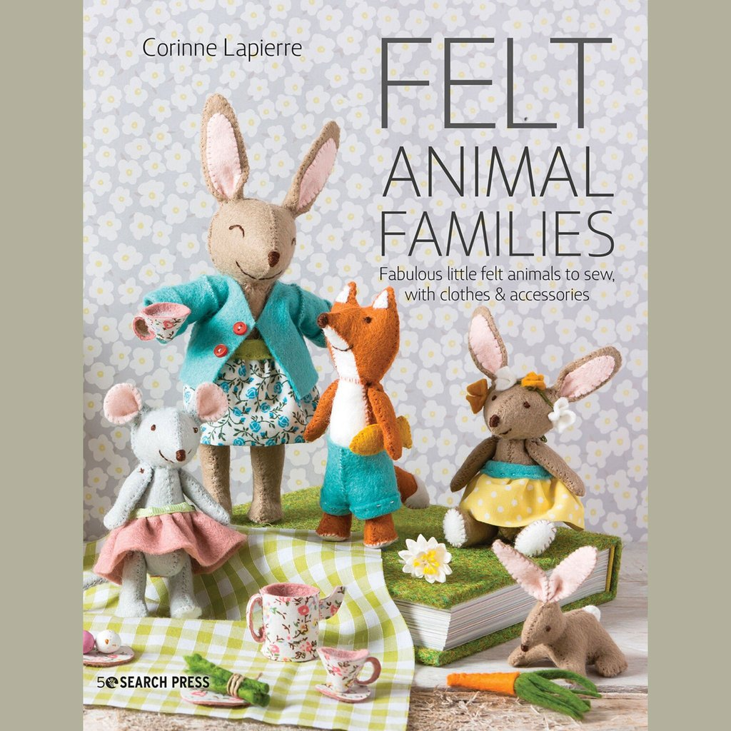 Corinne Lapierre Felt Animal Families Book & Craft Pack