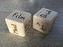 Jim Light Woodcrafts - Wooden Decision Dice