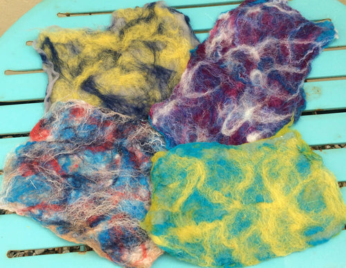 Introduction to Wet Felting - 19/1 & 12/2