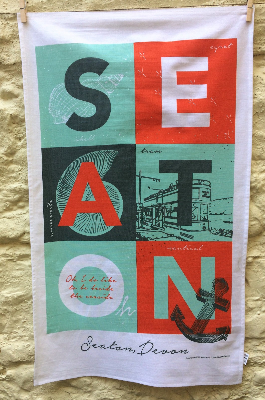 Seaton Tea Towel