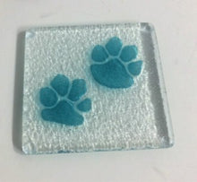 Glass Relief - coasters