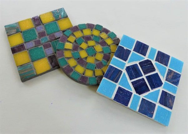 Mosaic Coasters & Pot Stands - 8/6 & 24/6