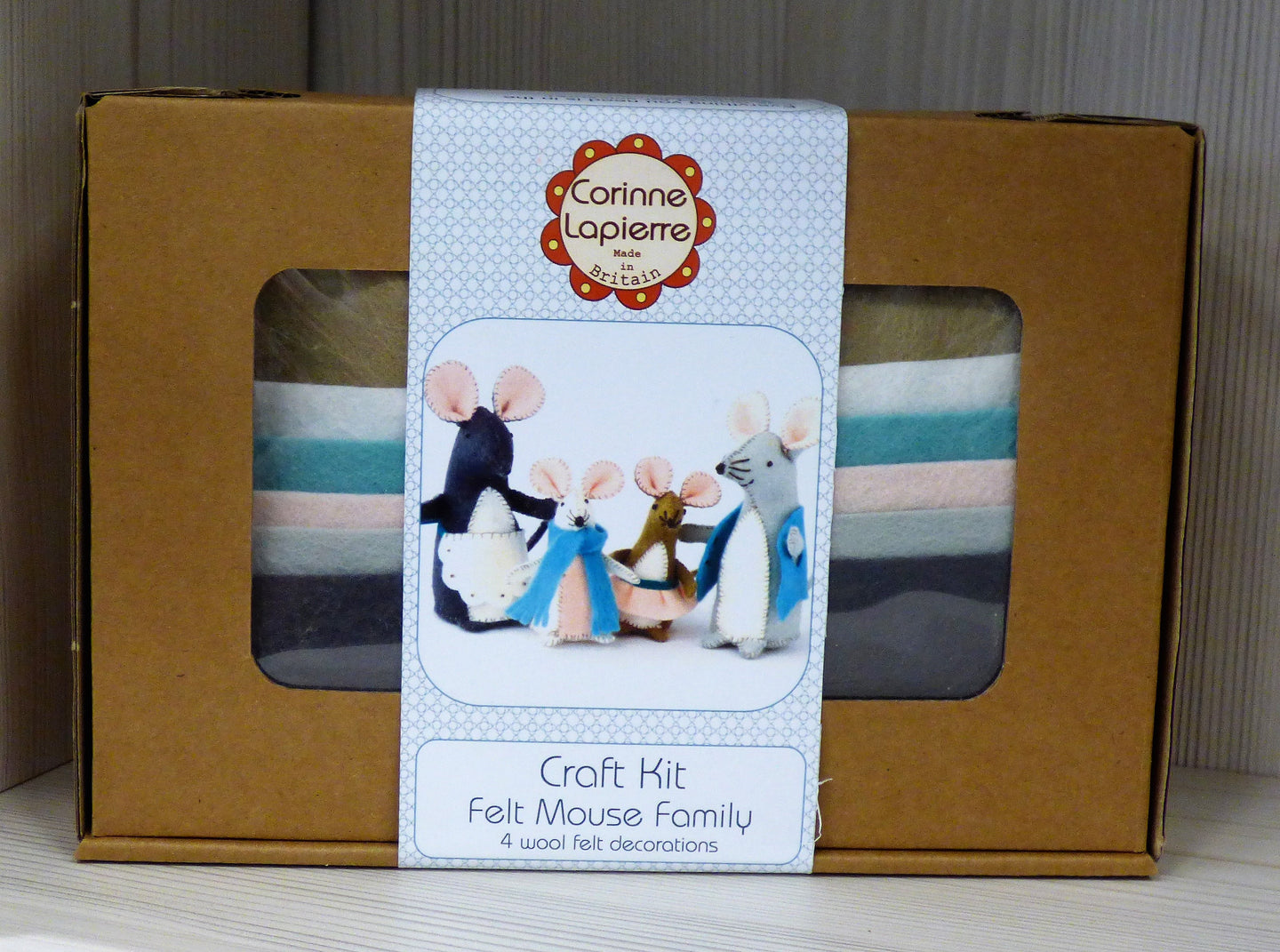 Corinne Lapierre Boxed Wool Felt Craft Kits