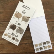 Alex Clark Art Magnetic Notepads / To Do Lists