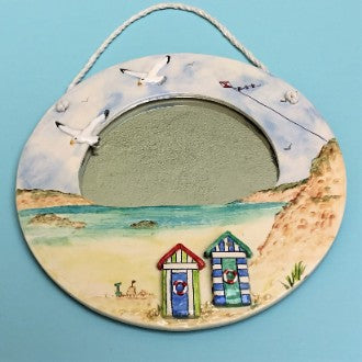 Beach Huts Mirror