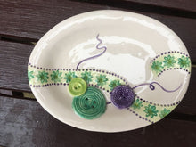 Oval Button Dishes