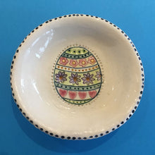 Round Ceramic Dishes - Easter Egg