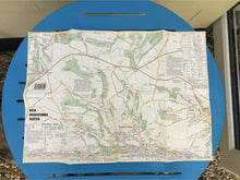 Walking Map of Beer, Branscombe & Seaton