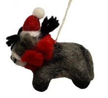 Fair Trade Wool Felt Christmas Decorations