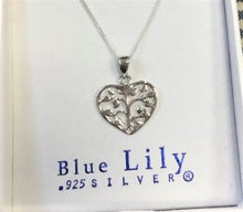 Blue Lily 925 Silver Pendants