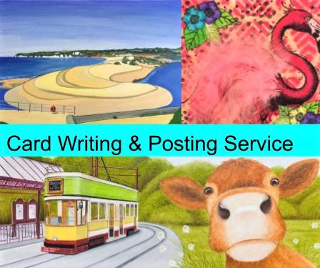 Greetings Card Writing & Posting Service