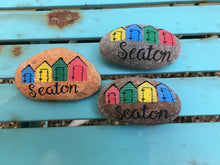 Carla Beckman Pebble Art & Wood Slices