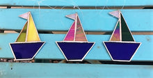 Devon Glass Studio Sail Boats