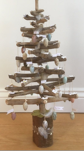 Driftwood Easter Trees - 27/3