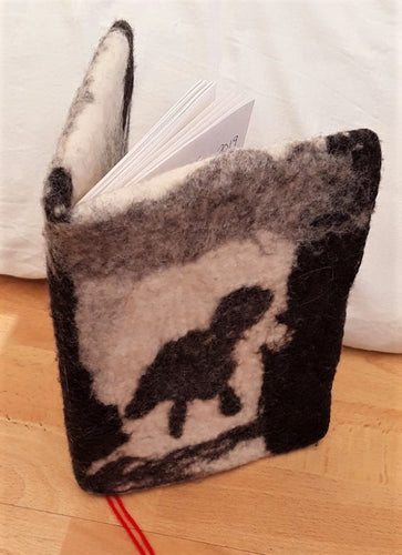 Felt a Book Cover or Phone Case - 23/9
