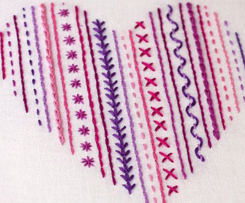 Learn Embroidery Stitches - 22/11 & 15/2