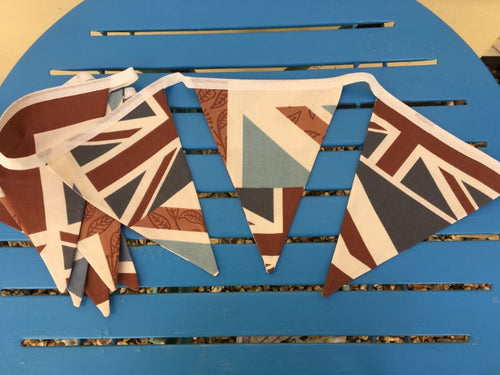 Handmade Triangular Fabric Bunting