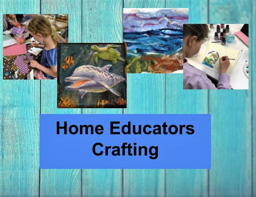 Home Educators Crafting - 5/5, 2/6, 7/7