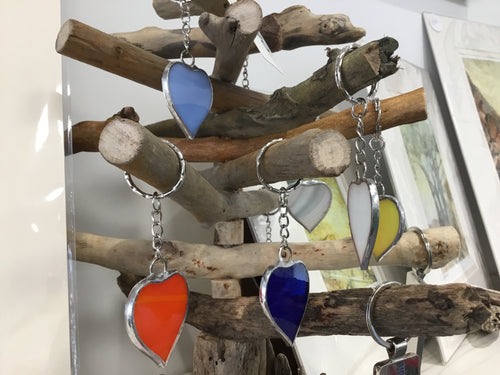Devon Glass Studio Key Rings
