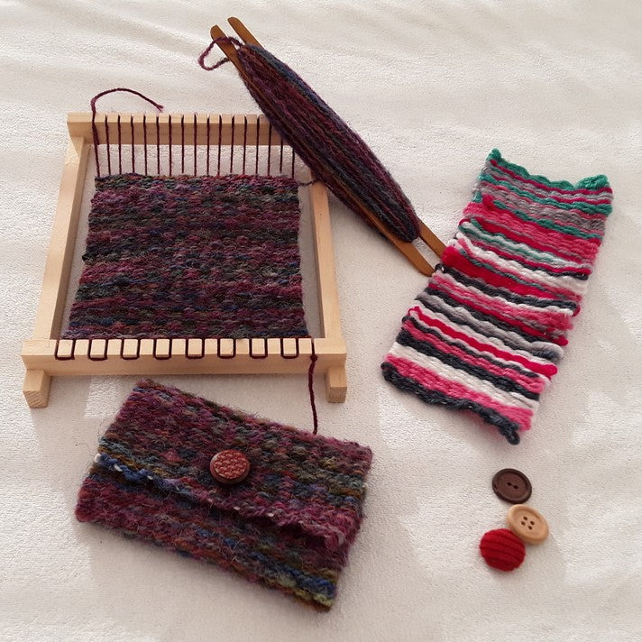 Introduction to Weaving with a Loom - 23/11, 11/1, 13/3
